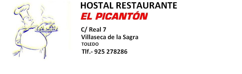 """RESTAURANTE """"EL PICANTON"""""""
